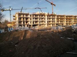 zdjęcie z budowy Vilda Park