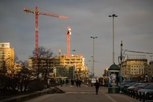 zdjęcie z budowy Widok Towers
