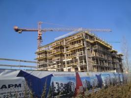 zdjęcie z budowy Variant Praga