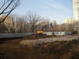 zdjęcie z budowy Rezydencja Potocka