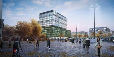 zdjęcie z budowy Biurowiec D Nowy Rynek