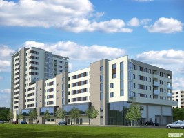 zdjęcie Centrum Mieszkaniowo-usługowe MSM II