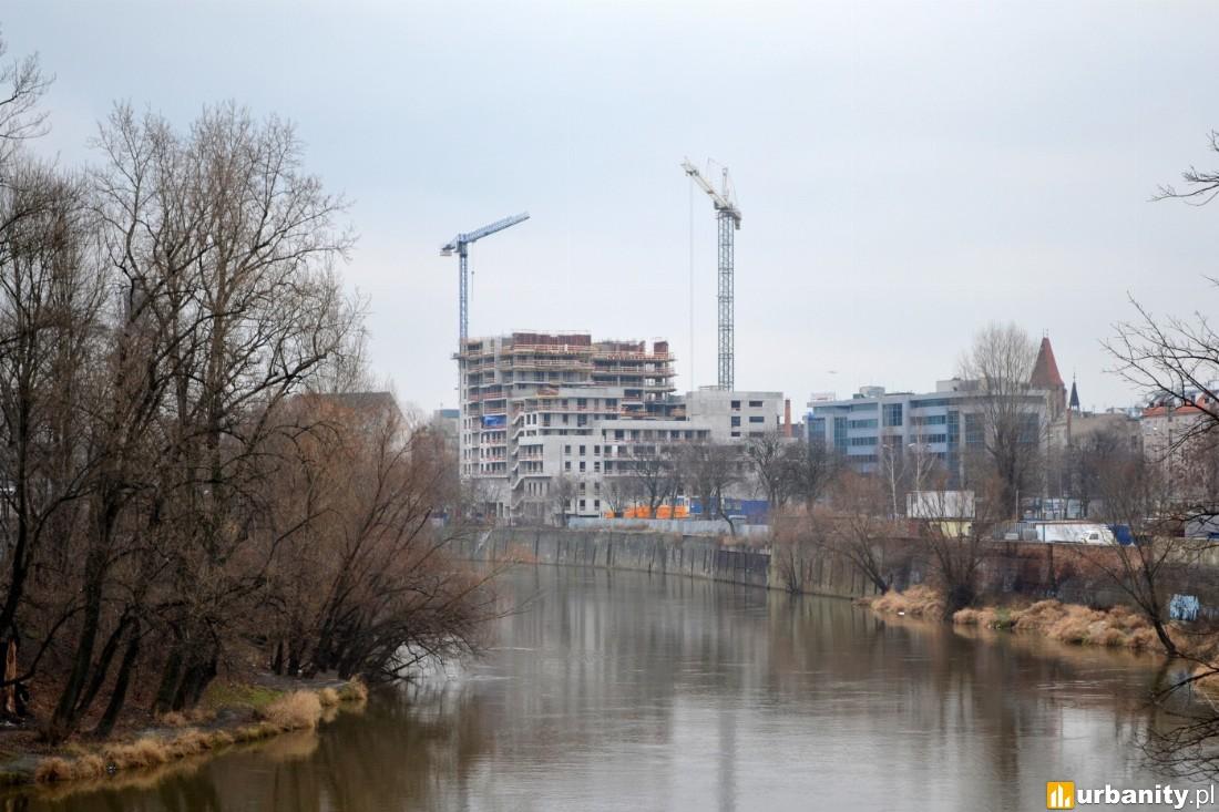 W budowie Odra Tower