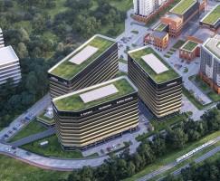 zdjęcie z budowy Fabryczna Office Park