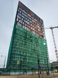 zdjęcie z budowy Brama Miasta