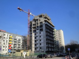 zdjęcie z budowy Nowe Bielany 2