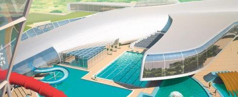 wizualizacje Kompleks wodno-sportowy