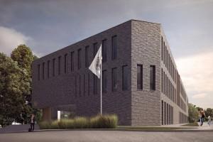 zdjęcie z budowy Instytut Pamięci Narodowej
