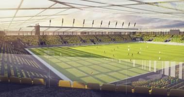 wizualizacje Nowy stadion GKS Katowice