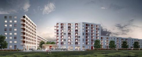 zdjęcie z budowy Nowy Nikiszowiec