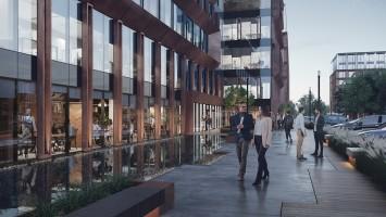 zdjęcie z budowy Palio Office Park