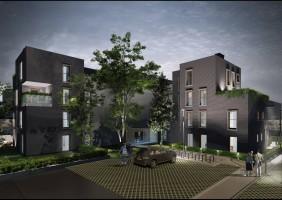 zdjęcie z budowy Oak Park
