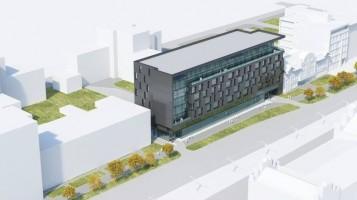 wizualizacje Budynek biurowo-usługowy
