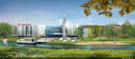 wizualizacje Centrum Handlowe Nimfea