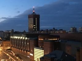 zdjęcie z przebudowy Akademia Ekonomiczna