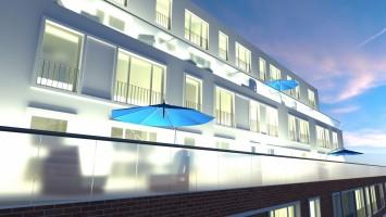 zdjęcie z budowy River House