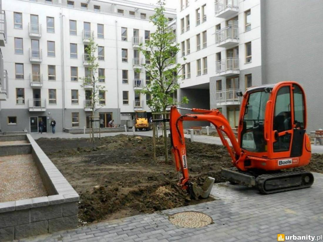 W budowie Osiedle Zielona Italia