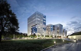 wizualizacje Panorama Business & Reatil Park