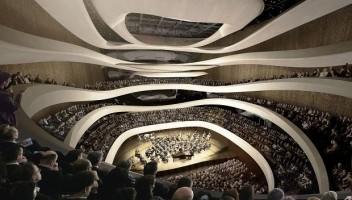 wizualizacje Sinfonia Varsovia Centrum