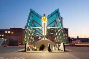 zdjęcie Stacja metra C-13 Powiśle