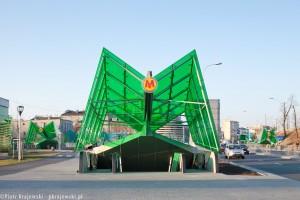 zdjęcie Stacja metra C-14 Stadion Narodowy