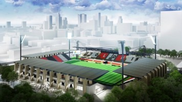 zdjęcie Stadionu Polonii Warszawa