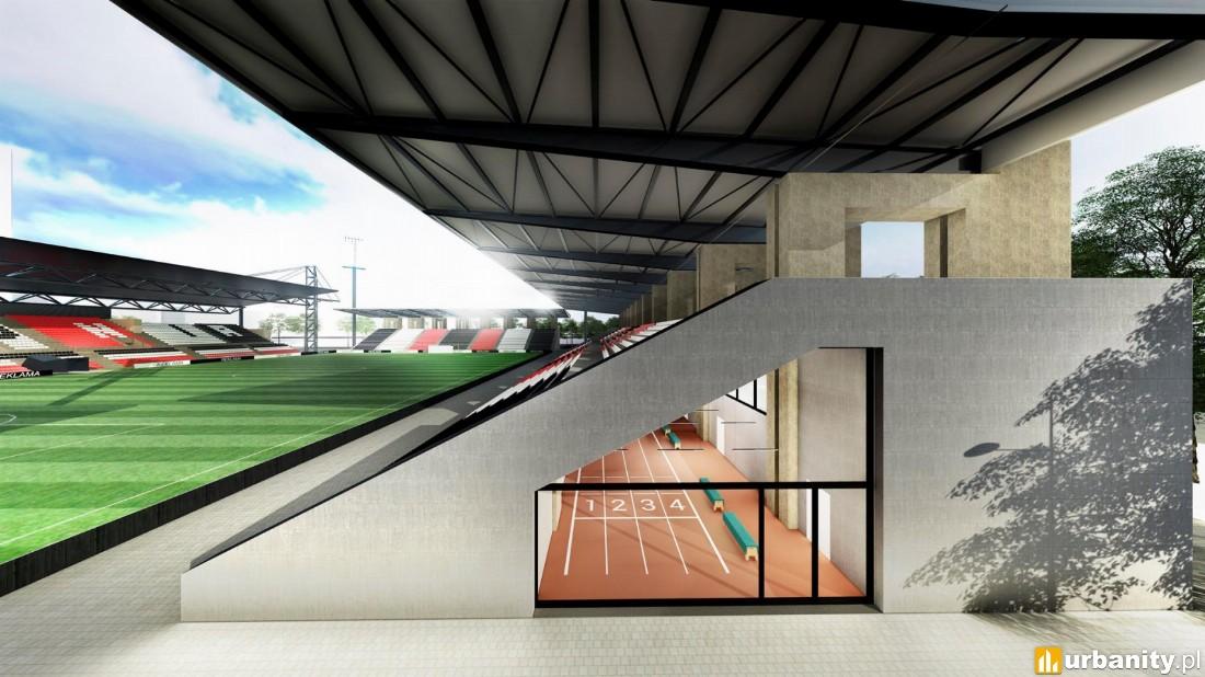 projekt rozbudowy stadionu