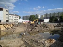 zdjęcie z budowy Viva Vitolin