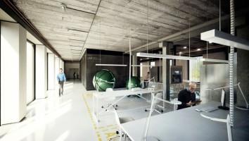 zdjęcie z przebudowy TechPark Kanlux