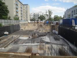 zdjęcie z budowy Widoki Kruszewskiego