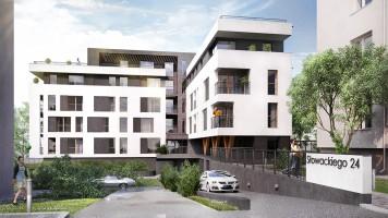 zdjęcie z budowy Apartamenty Słowackiego 24