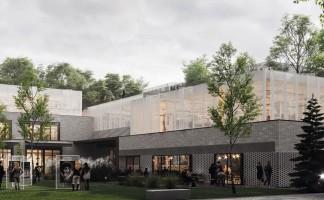 wizualizacje Centrum kulturalno–gastronomiczne Ratuszowa 6