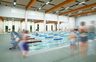 zdjęcie z budowy Dzielnicowe Centrum Sportu i Rekreacji Na Kozłówce