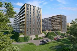 zdjęcie z budowy Murapol Apartamenty Trzy Stawy