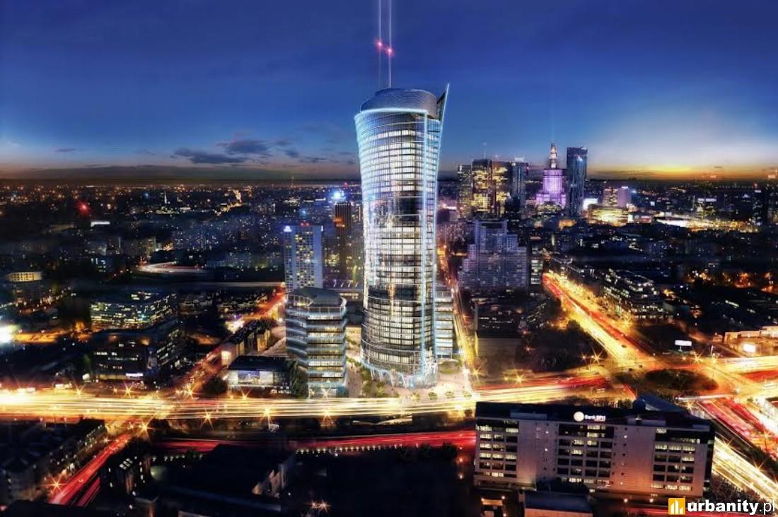 Wizualizacje Warsaw Spire