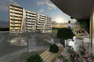 wizualizacje Murapol Apartamenty Trzy Stawy