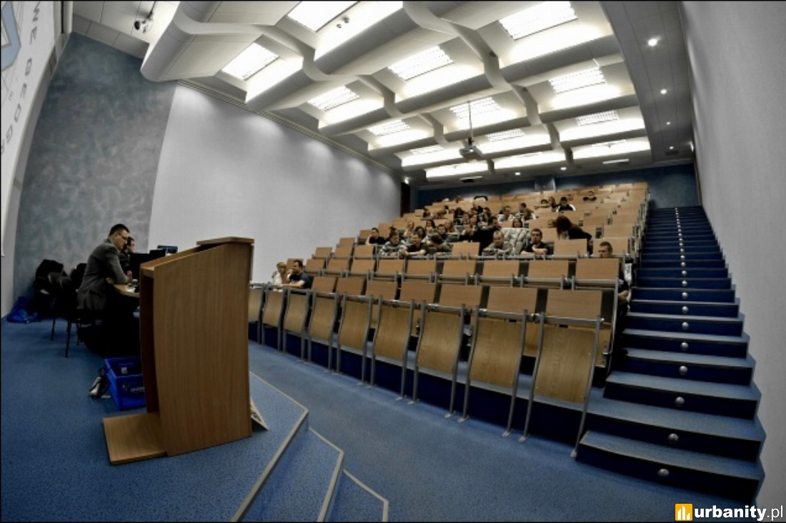 Wnętrze Wydział Nauk Społecznych Uniwersytetu Gdańskiego