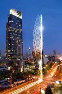 wizualizacje Wola Tower