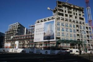 zdjęcie z budowy Portova