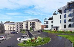 zdjęcie z budowy Apartamenty Tatarska 4