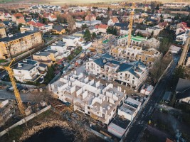 zdjęcie z budowy Osiedle Nova Stoczniova