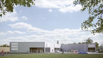 zdjęcie z budowy Park Bytom