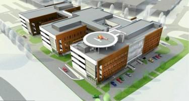 zdjęcie z budowy Szpital Południowy