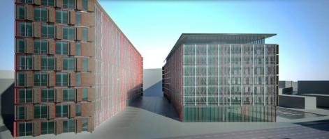 wizualizacje Centrum Biurowe Mikołowska