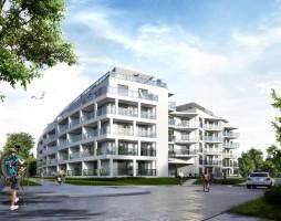 zdjęcie z budowy Apartamenty Białe