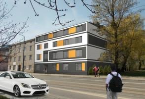 zdjęcie z przebudowy Łagiewnicka 96A