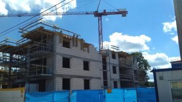 zdjęcie z budowy Moje Nowe Miasto