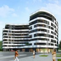zdjęcie z budowy Apartamentowiec Barska 69