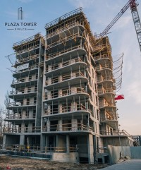 zdjęcie z budowy Plaza Tower
