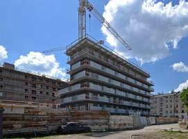 zdjęcie z budowy Nowa Manufaktura